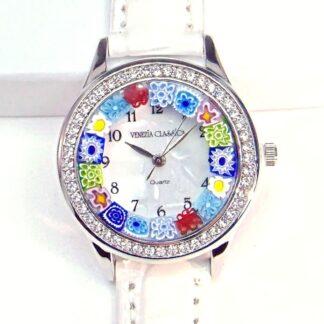 Orologio Venissa Bianco Silver Multicolor
