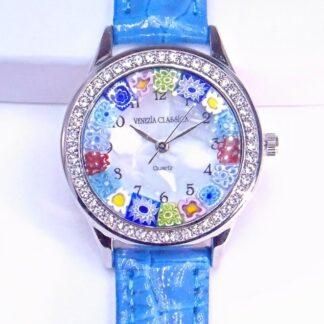 Orologio Venissa Blu Silver Multicolor