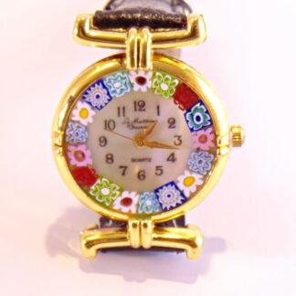 Orologio Murrina Nero Gold
