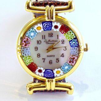 Orologio Murrina Marrone Gold